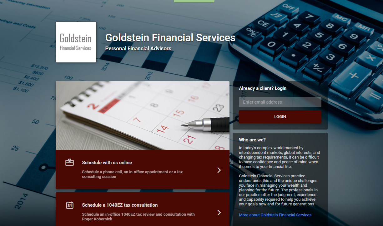Goldstein Financial Services  Personal Financial Advisors