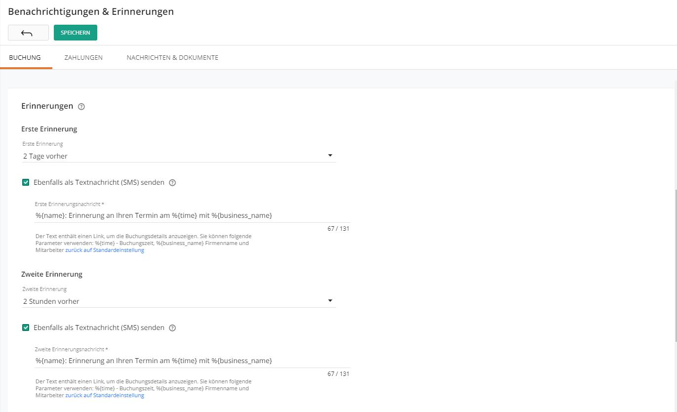 Email + Benachrichtigung