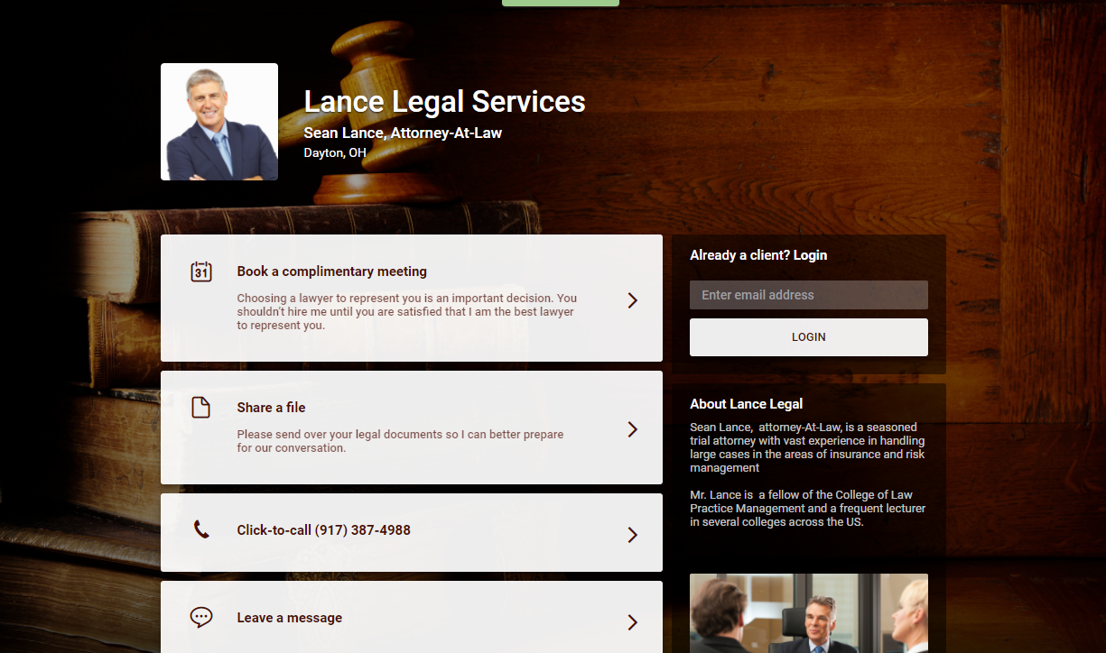 Lance Legal Services  Sean Lance  Attorney At Law
