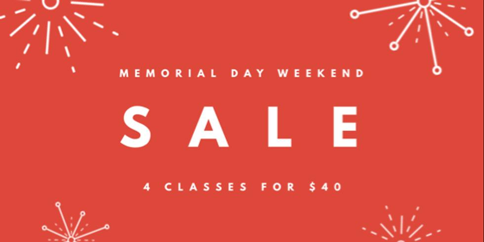 Memorial Day Weekend Sale  (1)