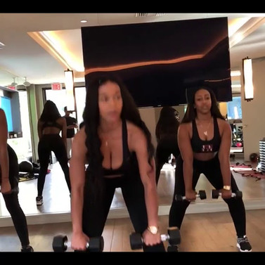Tiffany Simone | Strut LA | Workout