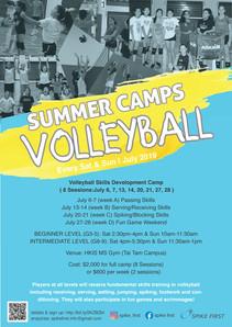 Spike First Summer Volleyball Camp 2019