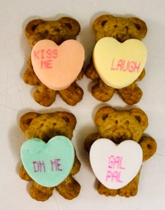 Valentine - Teddy Grahams 4pk