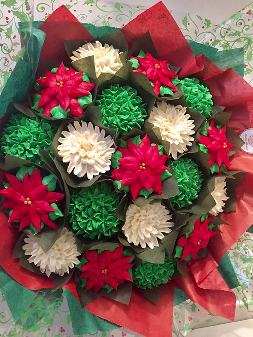 Holiday - Cupcake Bouquet
