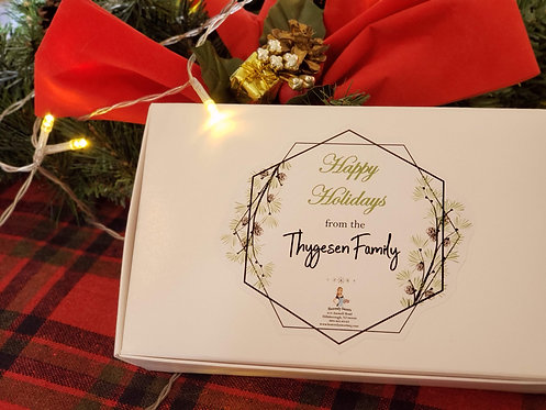 Holiday - Personalized Truffle Gift Box