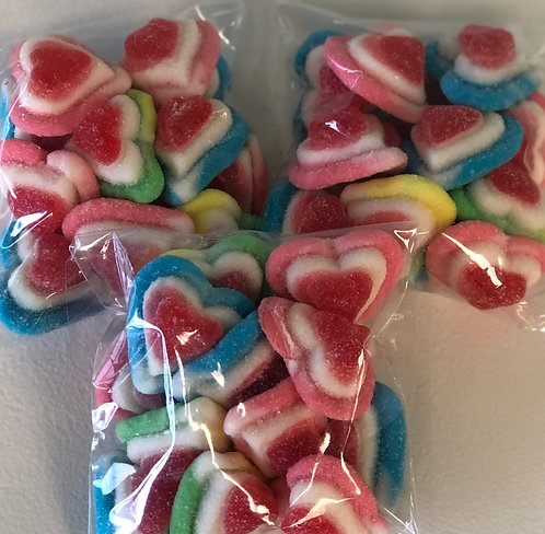 Valentine - Triple Gummy Hearts