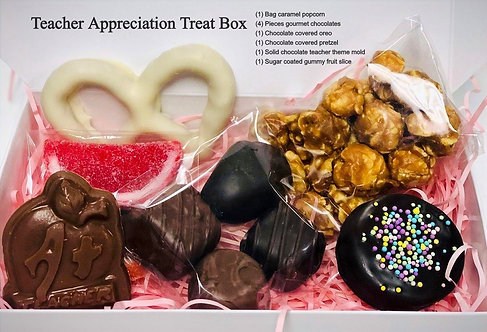 Teacher Appreciation Treat Box - PICK YOUR LABEL