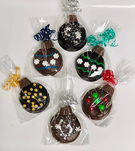 Holiday - Chocolate Dipped Oreo Ornaments