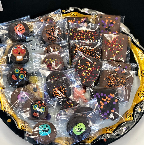 Spooky Sweets - Chocolate Covered Cookies