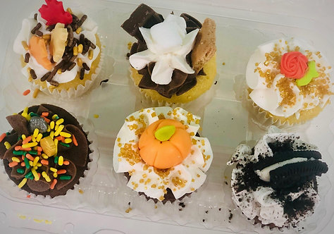 Spooky Sweets - Halloween Mini Cupcakes