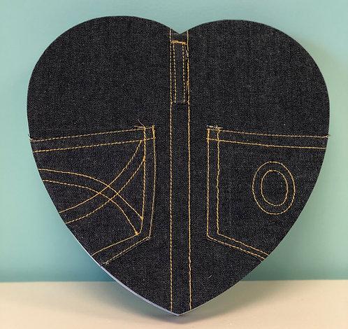 Valentine - 1 lb Heart-Shaped Box XO Jean