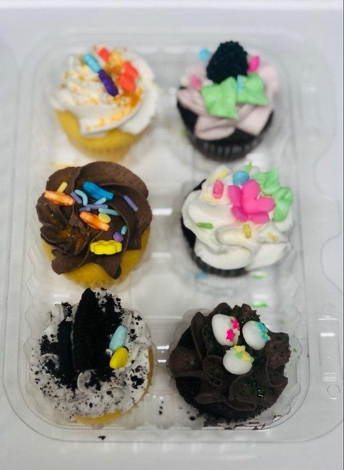 Easter Mini Cupcakes 6ct pack