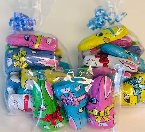 Foil Wrapped Bunnies