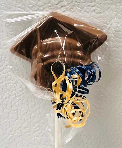 Graduation - Milk Chocolate Grad Hat Pop