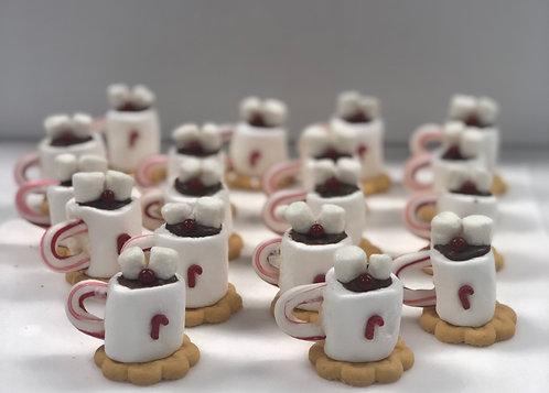 Holiday - Mini Hot Chocolate Cocoa Mugs
