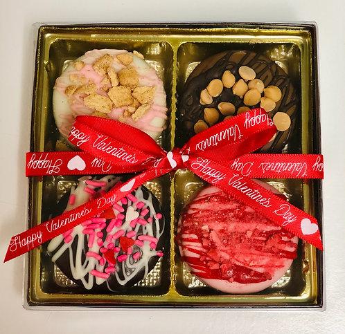 Valentine - Chocolate Covered Oreos 4pk