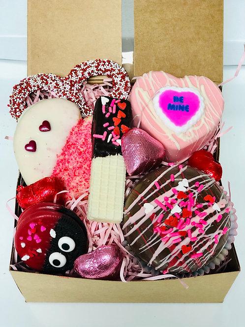 "Valentine - ""Love Bug"" Hot Cocoa Bomb Treat Box"