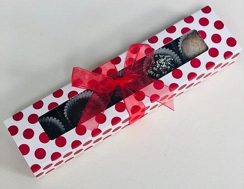 Valentine - Mini Truffle Slider Box