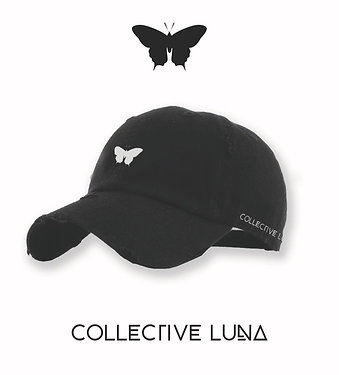 Collevtive Luna Distress Dad Cap