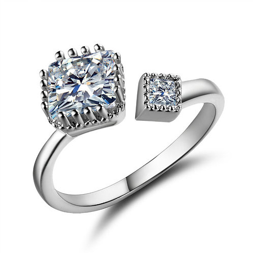 Adjustable Diamonds Ring