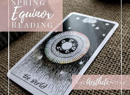 Spring Equinox Tarot Readings✨