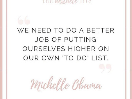 Inspiration from Michelle Obama