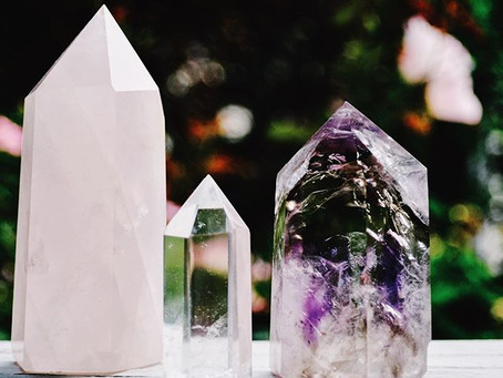 Crystals + Energy Work