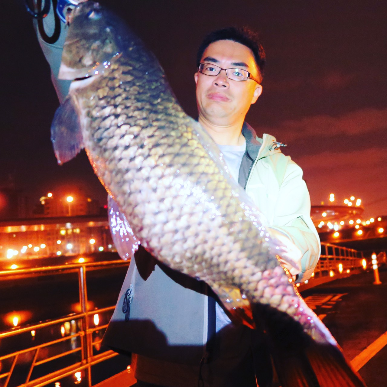 Fishing in Taipei