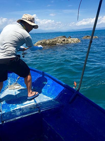 fishing in Sabah