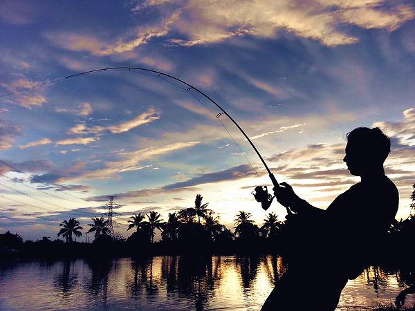 泰國釣象魚 fishing arapamia in Tailand