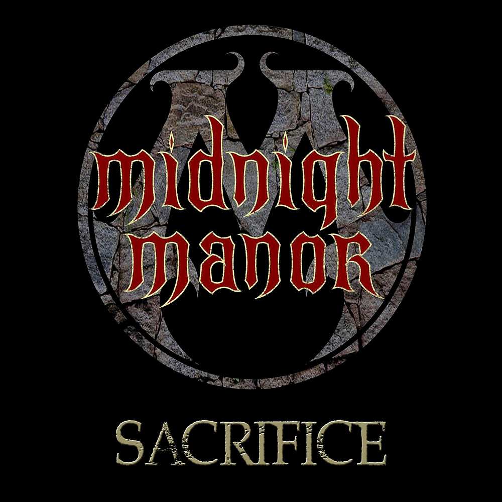 Midnight Manors Single Cover for 'Sacrifice'