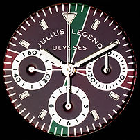 Julius Legend clock dial