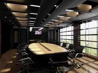 Adjustable Office Lighting Arrangement