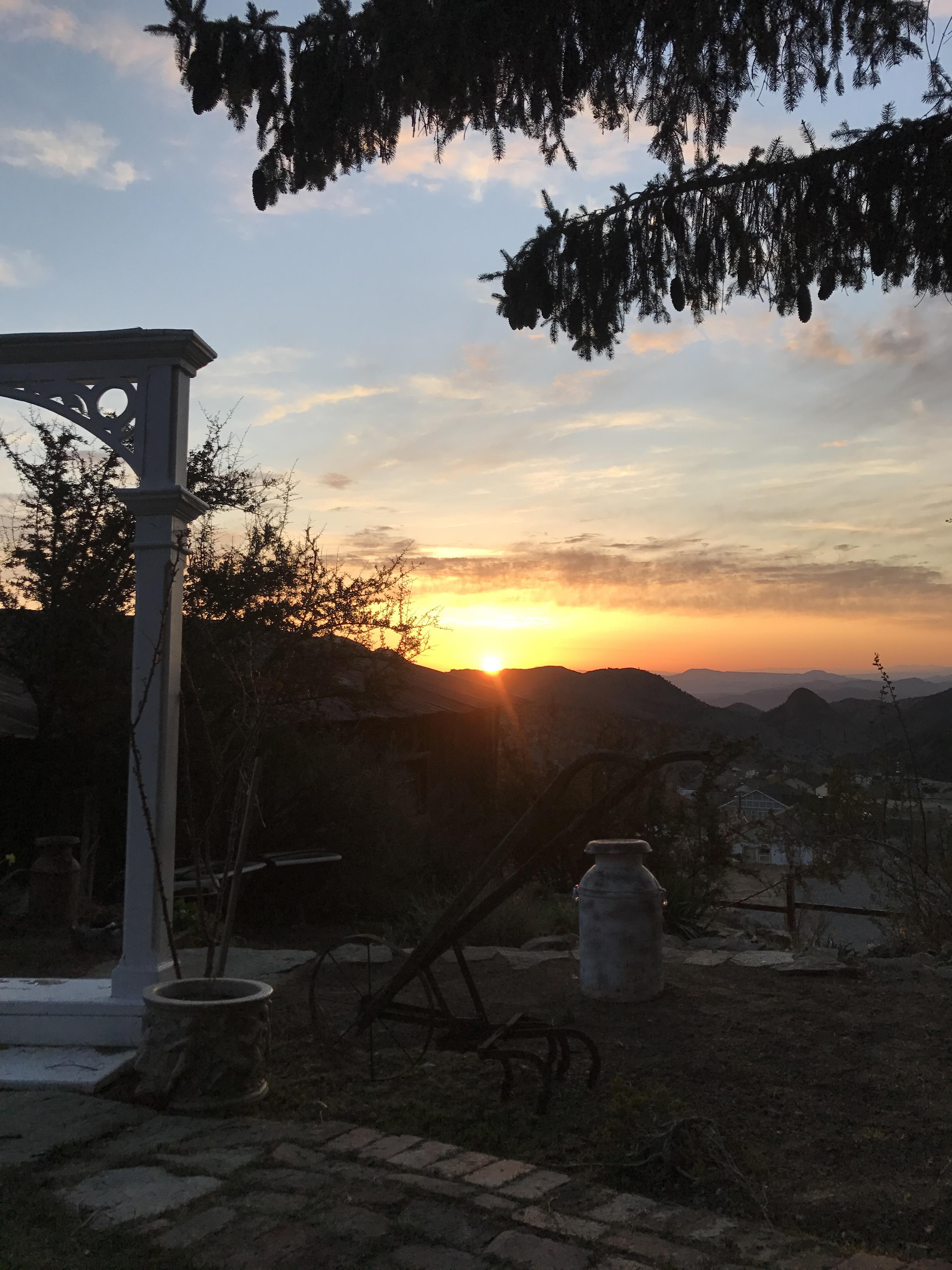 Arch Sunset
