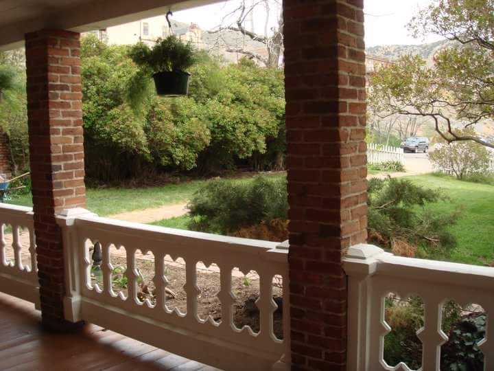 Lower Porch
