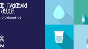 Campaña de Agua para familias de parajes de Rivadavia Banda Norte y Sur