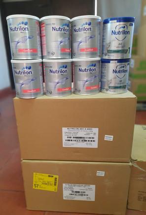 Donación de Nutricia Bagó.