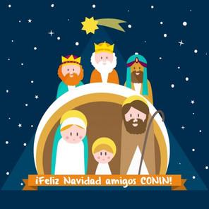 ¡Feliz Navidad amigos CONIN!