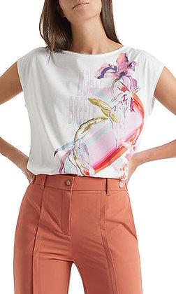 MARC CAIN Florales T-Shirt