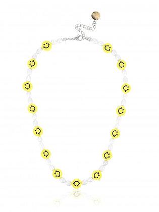 Smiley Perlenkette