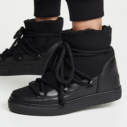 INUIKII Boots schwarz