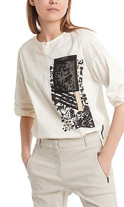 MARC CAIN Blusenshirt mit Netztasche