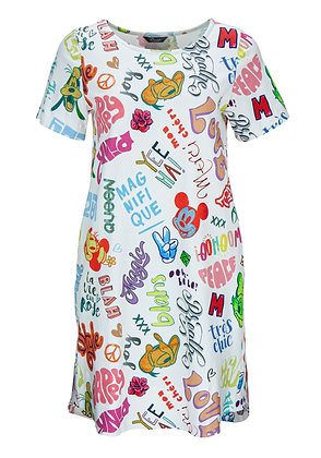 Princess goes Hollywood Shirtkleid Disney words