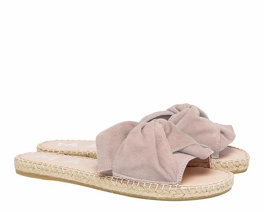 Manebi Flat Sandals with Knot - Hamptons