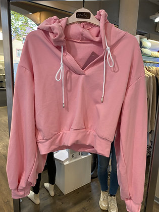 Cropped Sweater Poppy