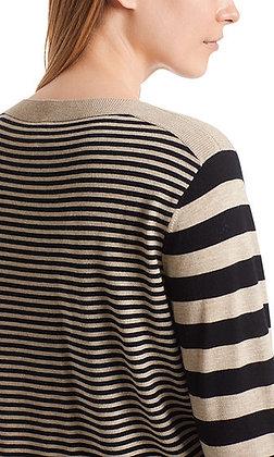 MARC CAIN Pullover aus Schurwollmix