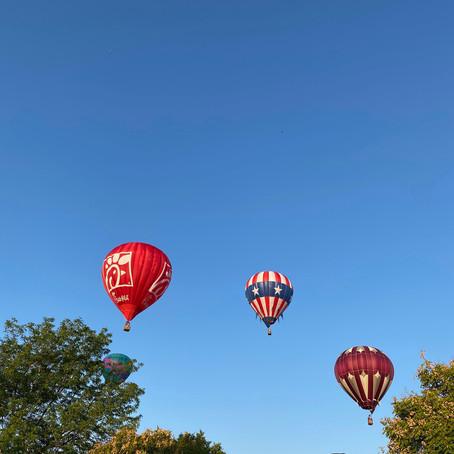 The Annual Sandy Balloon Festival