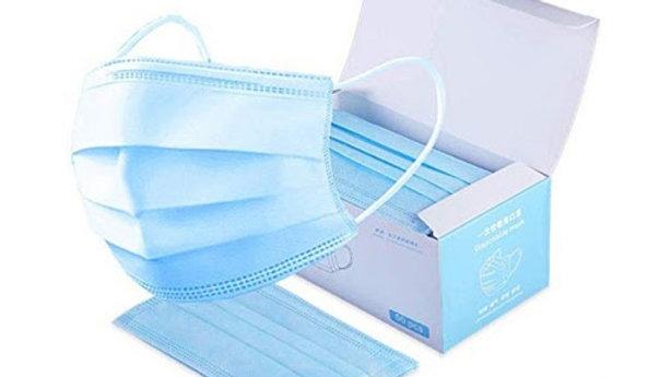 50pcs 4-PLY Earloop Disposable Katoji Care Face Masks
