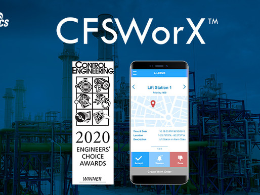 ICONICS CFSWorX™ Connected Field Service Software Wins Control Engineering Engineers' Choice Award