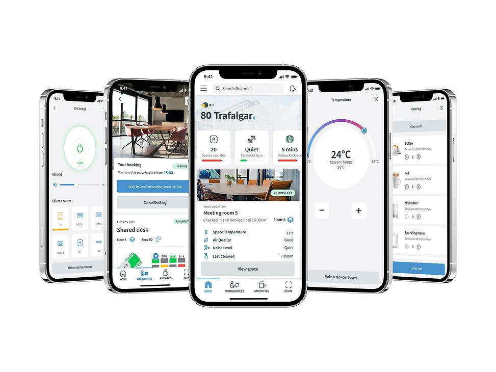 Intelligent-Buildings-Mobile-App-Roamer-